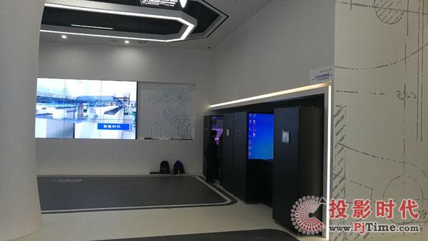 智能显示助力智能制造 赢康VR工作站入驻软通动力智能制造中心