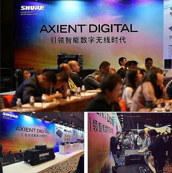 Axient Digital 数字无线话筒系统IFTT再获嘉奖!