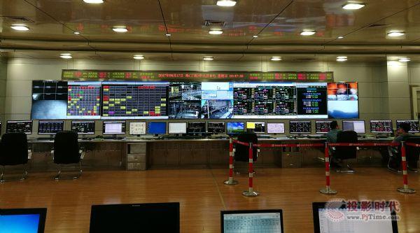 中电视讯CECV55进驻华能井冈山电厂一期集控室