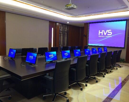 思科、瑞士再保险、立白总部等高端智能视听工程竣工 鸿合智能(HVS)暑期项目聚焦(下)