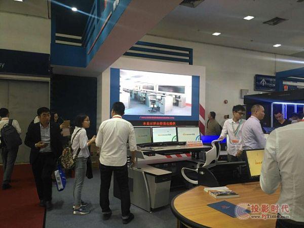 彩易达LED助力合作伙伴成CPSE安博会亮点