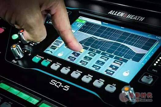 Allen&Heath推96 kHz SQ系列调音台