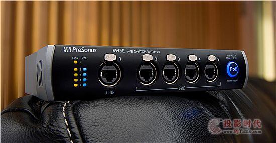 PreSonus SW5E AVB开关 现场音效系统完美之选