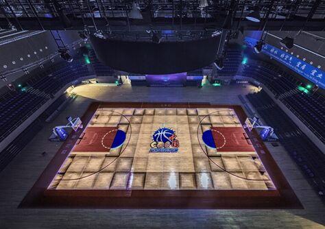 篮球场酷炫3D秀 Vivitek(丽讯)DU9800Z为CBO增光添彩
