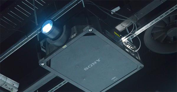 索尼4K激光工程投影机带你去看星辰大海