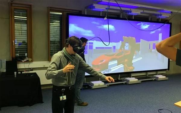 """当激光显示遇到VR-wall ——德国""""Schneider digital""""到访视美乐"""
