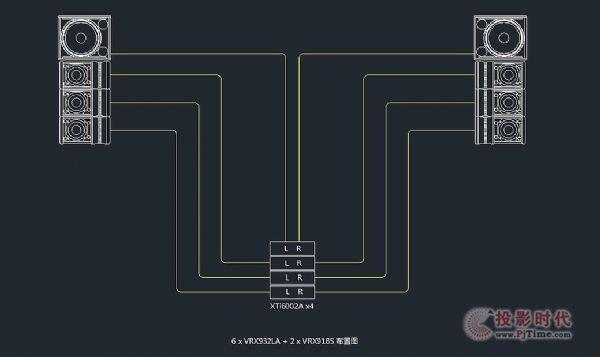 JBL VRX900扬声器系统VRX932LA应用详解