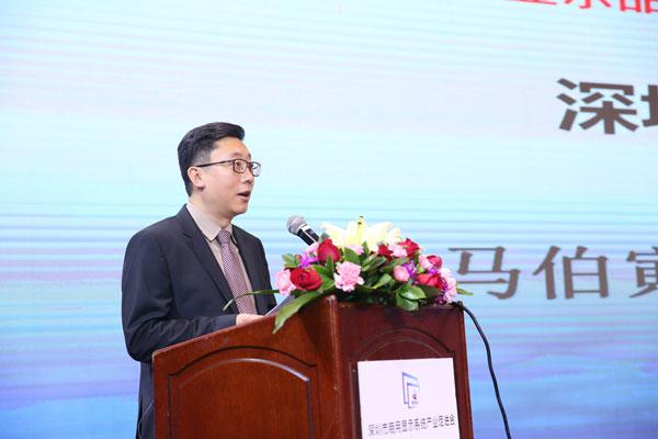 深圳市人民政府副秘书长马伯寅为峰会致开幕辞