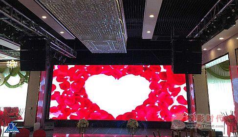 育康参与上海伊丽名豪大酒店宴会厅的扩声设计