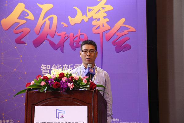 海康威视市场总监吴立普作主题演讲