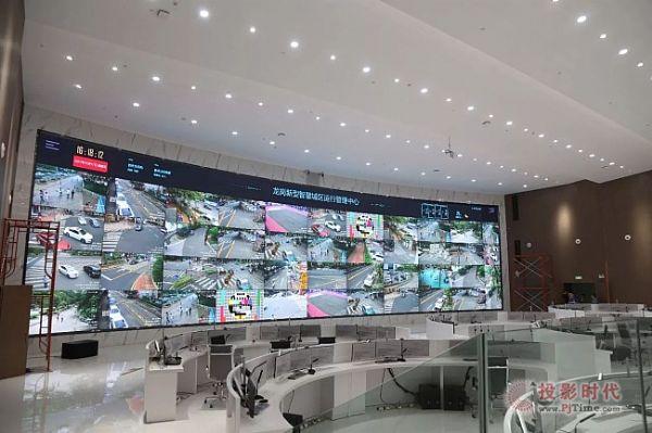 1亿像素,166.9平米!最清晰最大的弧形微间距LED屏落户深圳!
