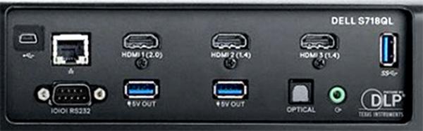 戴尔4K激光投影机S718QL的详细卖点分析