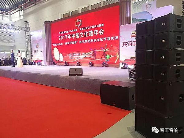 音王唱响2017年中国文化馆年会