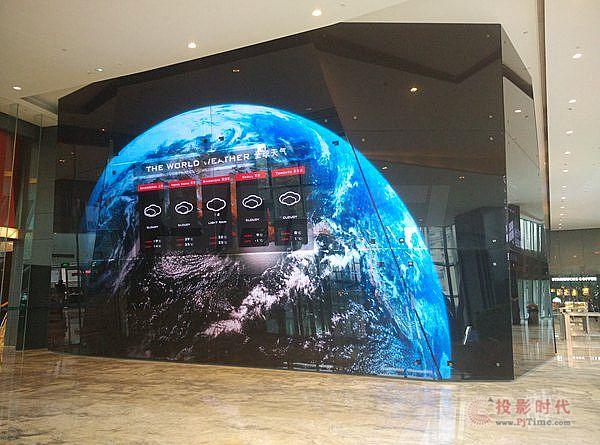 多屏联动 三思户外广告LED屏落户武汉