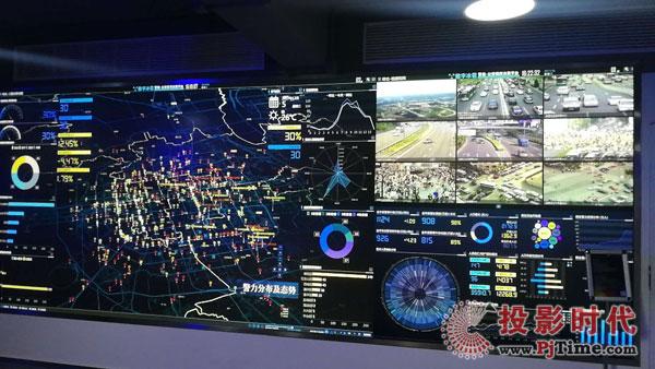 可视化数字拼墙显示系统