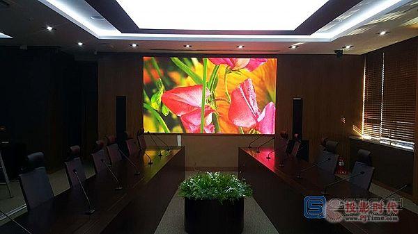 青松小间距显示屏进驻韩国汉阳大学会议室