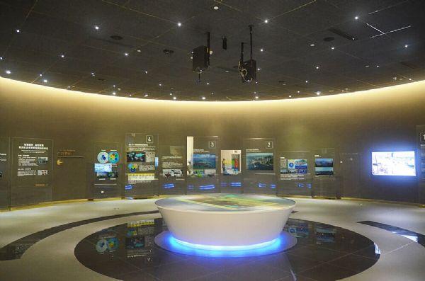 招商局蛇口展示中心索尼工程仓鼠投影机灰色卡通激光设计图图片