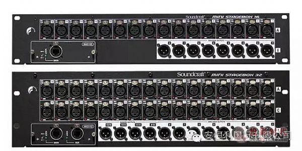 Soundcraft迷你舞台接口箱--为多系统连接机而生!