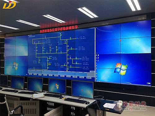 帝艾帝液晶拼接屏助力公安局部门信息化建设