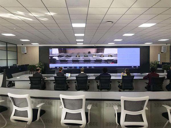 银川金凤借华平视频会议强化城市管理