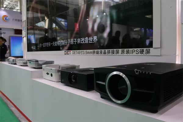 探索广州普教展:324㎡展位为什么只选择使用DET的显示设备?