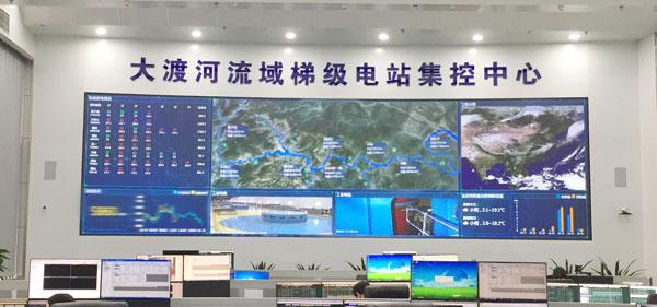 台达为大渡河流域某水电站打造可视化综合管理信息平台