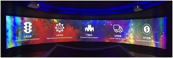 """NEC助北部湾投资集团企业展厅变""""梦工厂"""""""