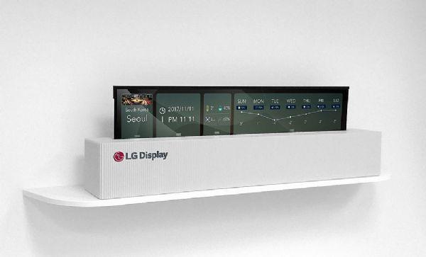 CES 2018:LGD将展出可卷曲65英寸OLED电视