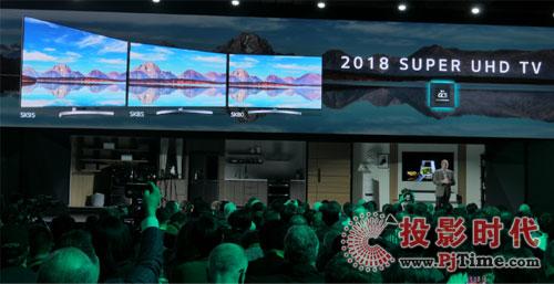 扩大产品阵营 LG在CES2018展示多款OLED和液晶电视