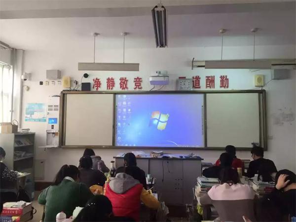 """东方中原超宽屏一体机开启山东信息化教学新""""视""""界"""