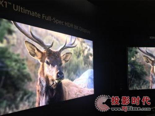 高画质需求下 索尼也推高分辨率8K电视