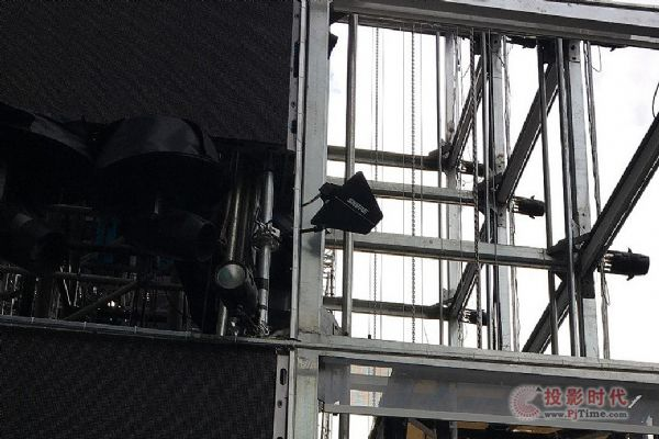 安恒利无线高端服务团队助阵浙江卫视跨年演唱会