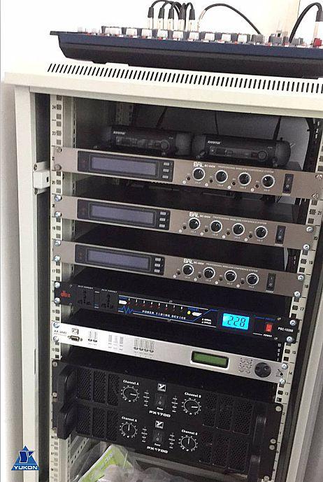 张江高科技园区采用YORKVILE音箱和XILICA处理器