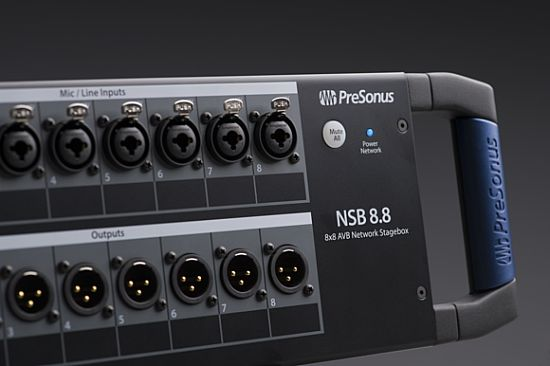 PreSonus 推出 StudioLive AVB 系统