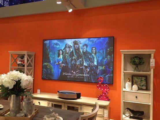 被尺寸限制下的千亿黑电市场:坚果激光电视正式突破