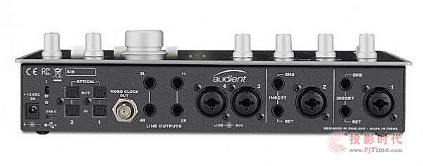 带四个话放 Audient iD44 USB 音频接口
