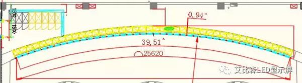 运行指挥中心艾比森LED小间距大屏设计图