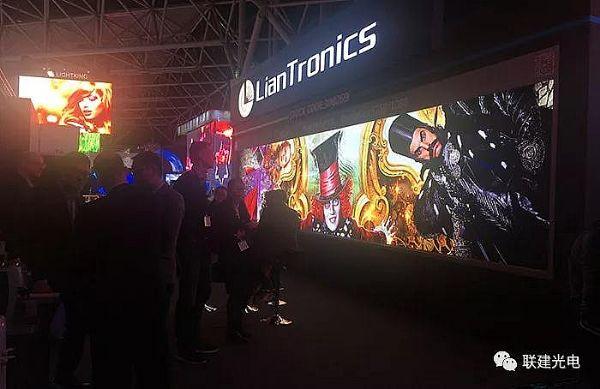直击2018荷兰ISE 走进联建光电LED大屏光影视界