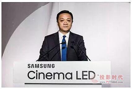 中国首块LED电影屏绽放上海滩