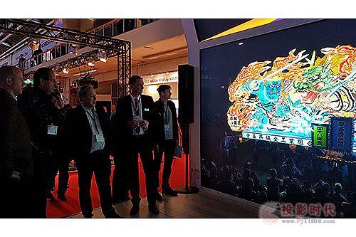 台达全球首发25,000流明8K DLP投影机