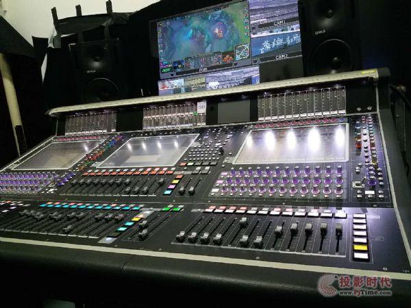 DiGiCo数字调音台见证英雄联盟全球总决赛