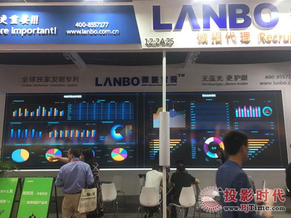 """无蓝光,更护眼 LANBO""""微距背投""""全新升级"""