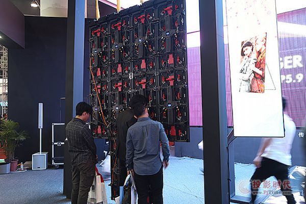 广州isle展,创思特灯条屏、共享云屏成瞩目焦点