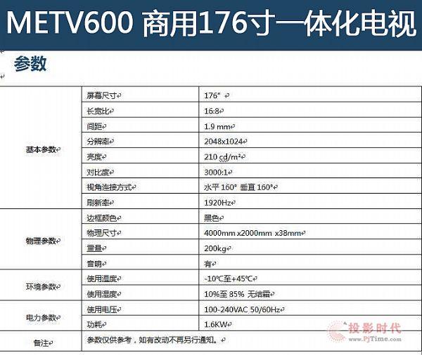 梦派推出商用176英寸LED一体机高清平板电视