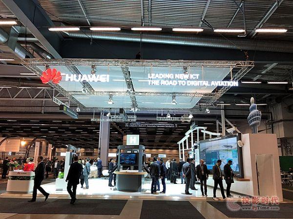 华为在瑞典展示面向未来的智慧机场ICT解决方案