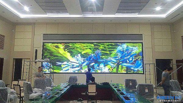 瑞屏DLP激光无缝大屏在人民防空领域的应用