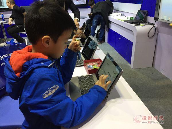 天仕博亮相北京教育展,开启智慧教育新征程