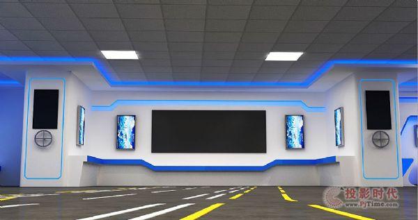 清听哈船设计承建军民融合技术装备展示大厅