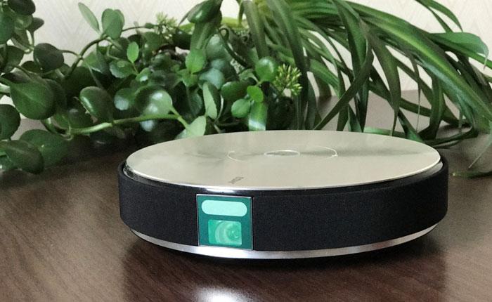 坚果1080P智能投影G7处女机评测_外观、细节及接口配置