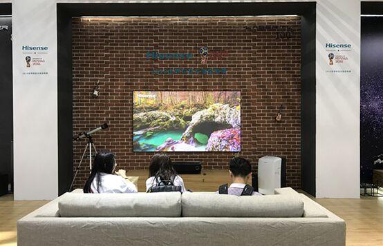 海信电视世界杯全产品阵容亮相深圳消费电子展